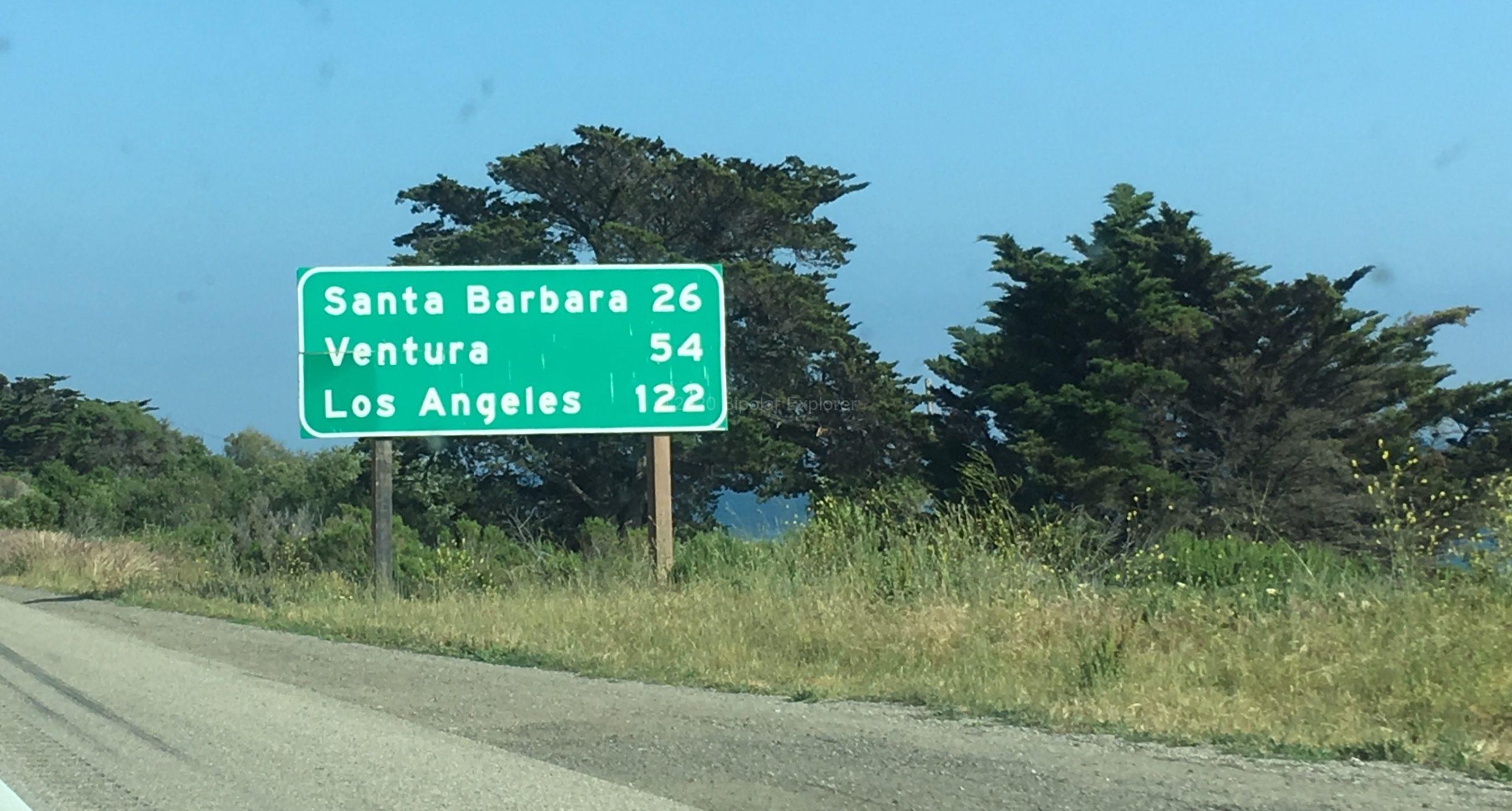 Day 3 Road To Santa Barbara